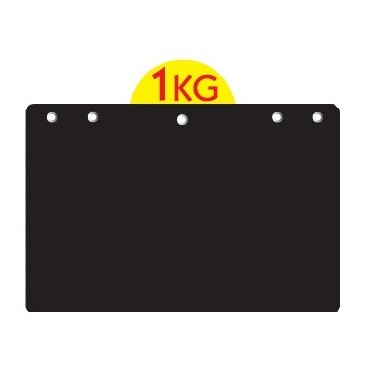 Etiquette Neutre avec disque poids